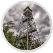 Ronadaxe Firetower Round Beach Towel