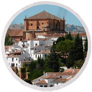 Ronda. Andalusia. Spain Round Beach Towel