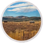 Room To Roam - Colorado Round Beach Towel