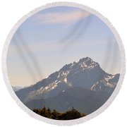 Room To Think Round Beach Towel