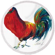 Rooster - Little Napoleon Round Beach Towel