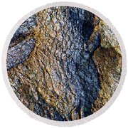 Round Beach Towel featuring the photograph Root Waves by Glenn McCarthy Art and Photography