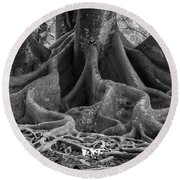 Roots Eleven Round Beach Towel