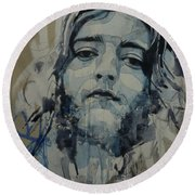 Rory Gallagher Round Beach Towel
