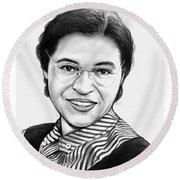 Rosa Parks Round Beach Towel