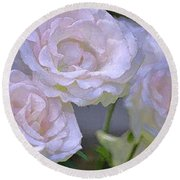 Rose 120 Round Beach Towel by Pamela Cooper