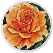 Rose 4_2017 Round Beach Towel