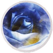 Rose - Daydreams - Dreamscape Round Beach Towel