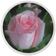 Rose Dreams Round Beach Towel