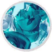 Roses #4 Round Beach Towel