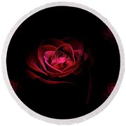 Roses And More  Round Beach Towel by Doug Long