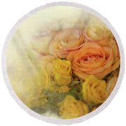 Roses For Mother's Day Round Beach Towel