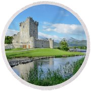 Ross Castle Round Beach Towel