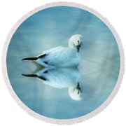 Ross Goose Round Beach Towel by Suzanne Handel