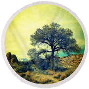 Round Beach Towel featuring the photograph Rough Terrain by Glenn McCarthy Art and Photography