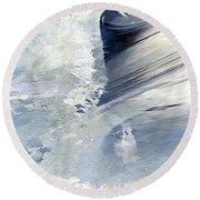 Rough Yet Peaceful Round Beach Towel