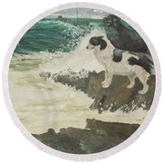 Roughsea Round Beach Towel