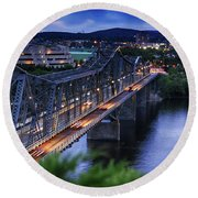 Royal Alexandra Interprovincial Bridge Round Beach Towel