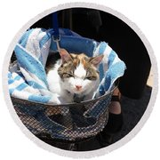 Royal Carriage Round Beach Towel