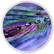Soul Reflections Round Beach Towel