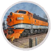 Royal Gorge Route 402 Round Beach Towel