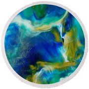 Royal Sands Round Beach Towel