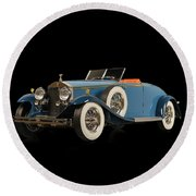 Royce Phantom II Round Beach Towel