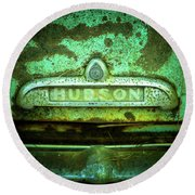 Rusted Hudson Round Beach Towel