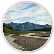 Rustic Water Round Beach Towel