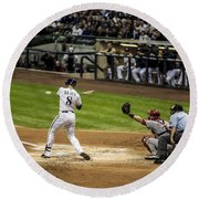 Ryan Braun  Round Beach Towel