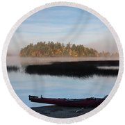 Sabao Morning Round Beach Towel