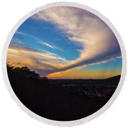 Sabre Springs Img 2 Round Beach Towel
