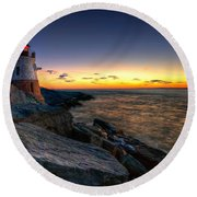 Sailors Delight Round Beach Towel