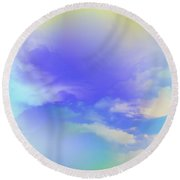 Saint John The Baptist Round Beach Towel