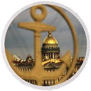 Saint Petersburg Round Beach Towel