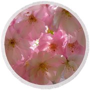 Sakura - Japanese Cherry Blossom Round Beach Towel