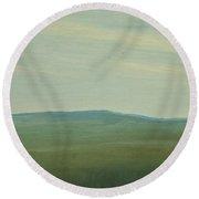Salen Afternoon Light 90x60 Cm Round Beach Towel