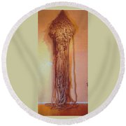 Salome Round Beach Towel