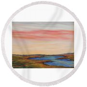 Saltpond Walk Round Beach Towel