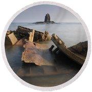 Saltwick Bay Round Beach Towel
