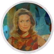Samantha Round Beach Towel