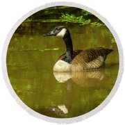 Sam's Goose Round Beach Towel