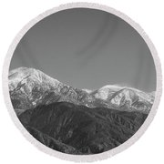San Gorgonio Mountain-1 2016 Round Beach Towel