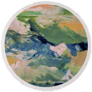 San Sui Round Beach Towel