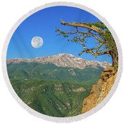 Sanctity Of Nature, The Impetus Behind My Photography Round Beach Towel