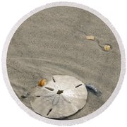 Sand Dollar Round Beach Towel