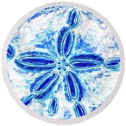 Sand Dollar Round Beach Towel