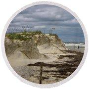 Sand Dunes Round Beach Towel