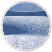 Sand Patterns Round Beach Towel