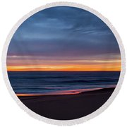 Sandbridge Sunrise Round Beach Towel
